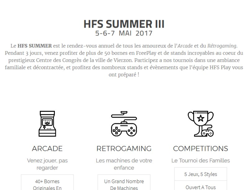 summer website